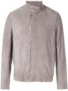 асимметричная куртка  Emporio Armani