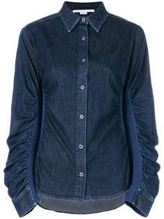 джинсовая рубашка со сборками Stella McCartney
