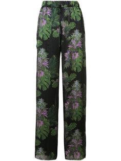 брюки с цветочным рисунком Baja East