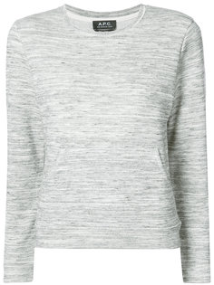 classic fitted top A.P.C.