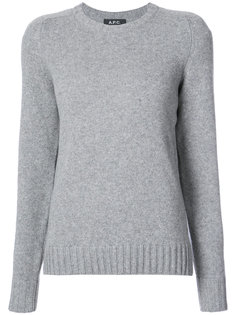 classic fitted sweater A.P.C.