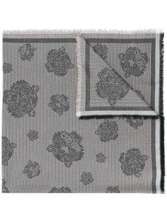 шарф с заплатками с принтом тигра Kenzo