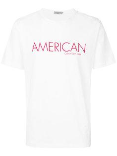 футболка American Calvin Klein Jeans