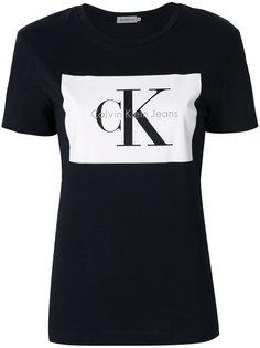 классическая футболка с логотипом  Calvin Klein Jeans