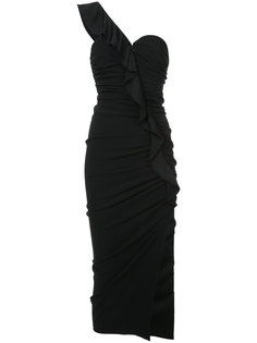 платье на одно плечо Veronica Beard