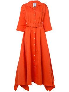 платье-рубашка с поясом Rosie Assoulin