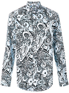 рубашка с узором пейсли Kenzo