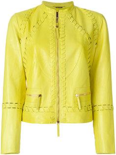 куртка с декоративной строчкой  Roberto Cavalli
