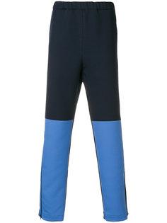 спортивные брюки дизайна колор-блок Marni