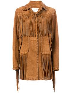 куртка с бахромой Valentino