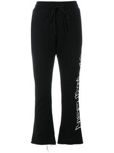 укороченные спортивные брюки R13
