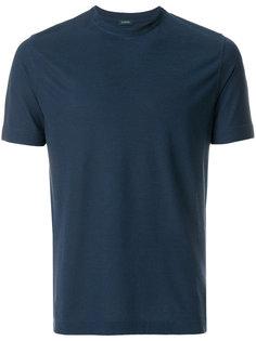 футболка с короткими рукавами  Zanone
