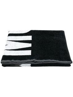 пляжное полотенце с логотипом Moschino