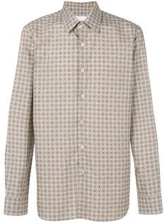 рубашка с мелким узором Prada