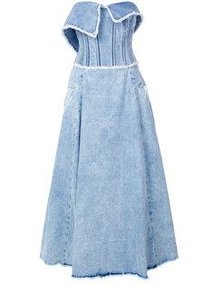 strapless bustier dress Natasha Zinko