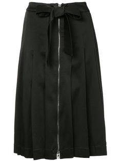 плиссированная юбка миди  Moschino