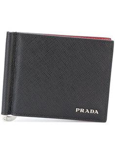 складной бумажник Prada
