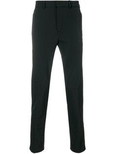 классические брюки с манжетами на молнии Prada