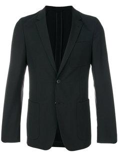 блейзер с накладными карманами Prada
