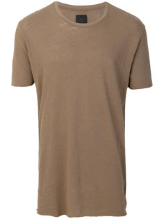 футболка с контрастной полоской Thom Krom
