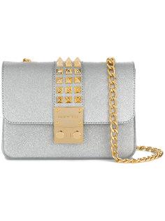 сумка на плечо Amalfi с блестящей отделкой Designinverso