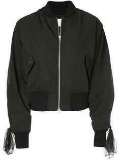 куртка-бомбер на молнии  Le Ciel Bleu
