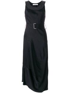 платье с поясом  Victoria Beckham