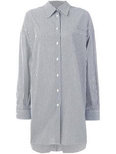 полосатая рубашка Maison Margiela