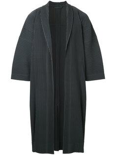 пальто с широкими рукавами Homme Plissé Issey Miyake