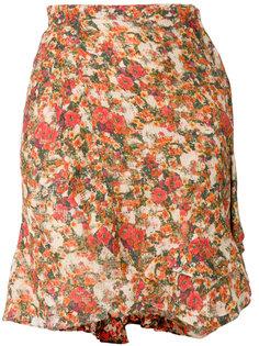 мини юбка с цветочным принтом Isabel Marant