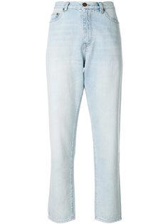 мешковатые джинсы с завышенной талией  Saint Laurent