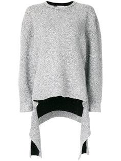 драпированный свитер Bal Balenciaga