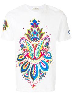 """футболка с принтом """"пейсли"""" Etro"""