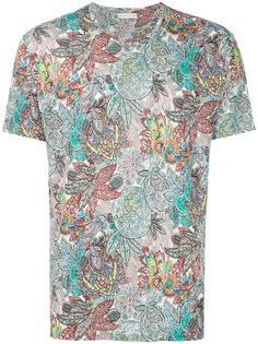 футболка с тропическим принтом  Etro
