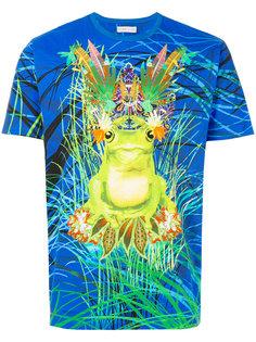 футболка с принтом лягушки  Etro