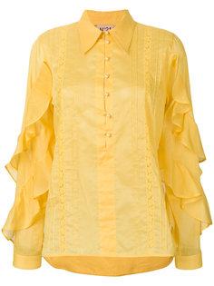 блузка с оборками на рукавах  Nº21