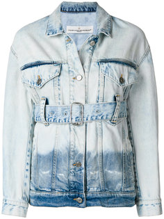 джинсовая куртка с ремнем Golden Goose Deluxe Brand
