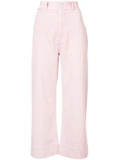 wide leg cropped pants Apiece Apart