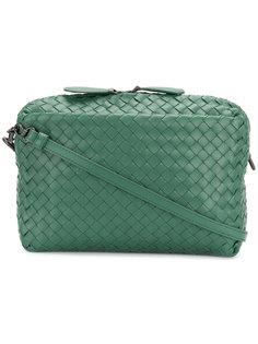сумка-почтальонка Intrecciato Bottega Veneta