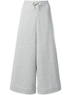 укороченные широкие спортивные брюки  Maison Margiela