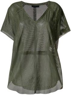 блузка с V-образным вырезом Drome