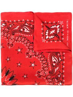 шарф-бандана с принтом Amiri