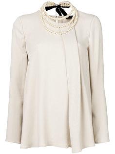 плиссированная блузка Twin-Set