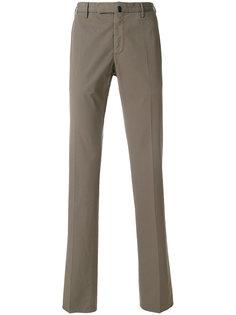 прямые классические брюки Incotex