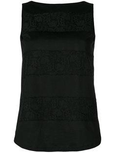 блузка с кружевными вставками Les Copains