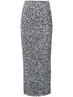 длинная плиссированная юбка Solace London