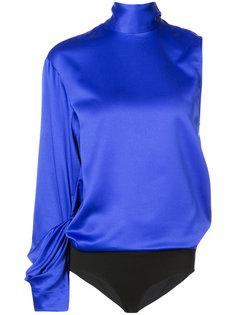 блузка-боди с одним рукавом Solace London