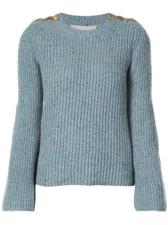 свитер с пуговицами на плечах Vanessa Bruno