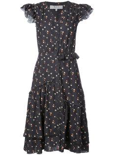 платье длины миди с цветочным рисунком Sea