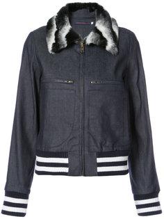 куртка-бомбер с отложным воротником Harvey Faircloth